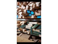 Offcuts in various timber