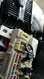 2007 ford focus 1.8 tdci ecu clocks transponder key fuse box
