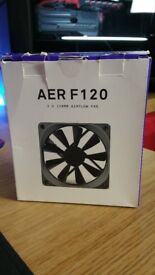 NZXT AER F120 PC Gaming Case Fans Twin Pack