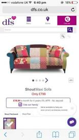 DFS Shout Sofa. Brand new condition