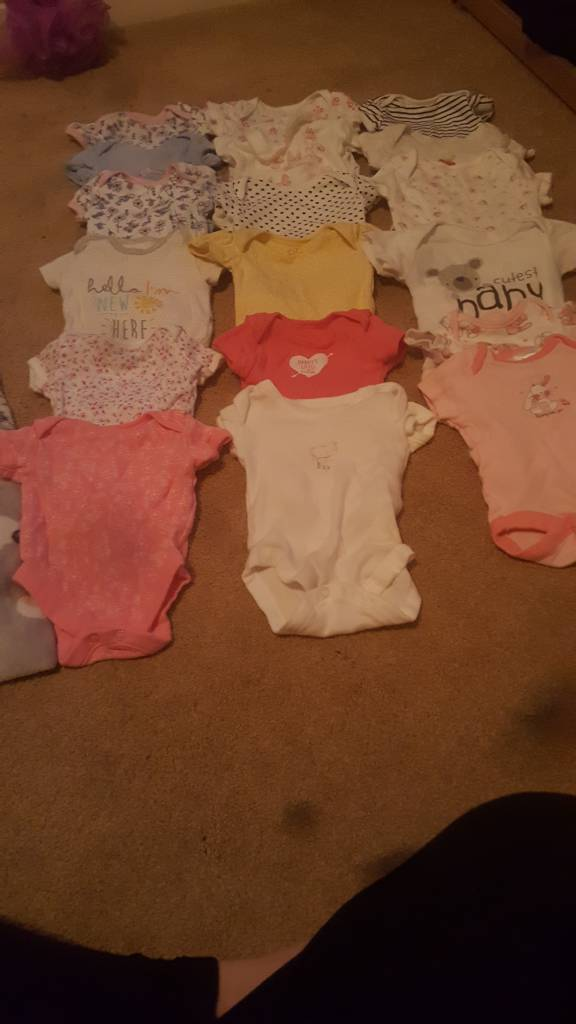 50+ baby girl clothes bundle