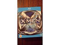 X Men box set on Blu-Ray (4 films)