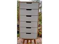 IKEA Sture 6 drawer unit in plywood