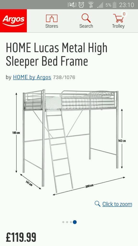 FREE High Sleeper Single Bed Frame