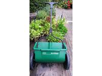 Scotts AccuGreen fertilizer spreader