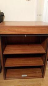 Very good quality cabinet with shutter that locks with a key