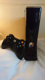 """Xbox 360 """"Slim"""" with 82+ Games + Controller + Headset"""
