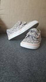 Childs vans trainers (used) uk 7.0