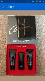 Giorgio Armani Code aftershave gift new