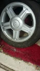 Hyundai coupe wheel