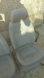 2 x VW Caddy seats and frames