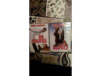 Dr Dolittle DVDs 1&2
