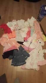 Baby girls clothing 3-6mths