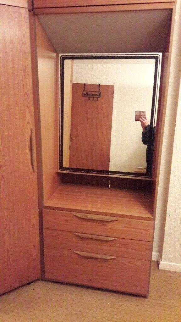 set bedroom teak westnofa oneandhome nightstand dresser img chest furniture pieces products