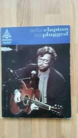 Music Book: Eric Clapton Unplugged