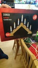 Candle arch mains operated BNIB