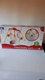 Baby gym safari
