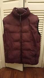 Winter sleeveless jacket