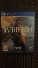 Battlefield 1 excellent condition PS4