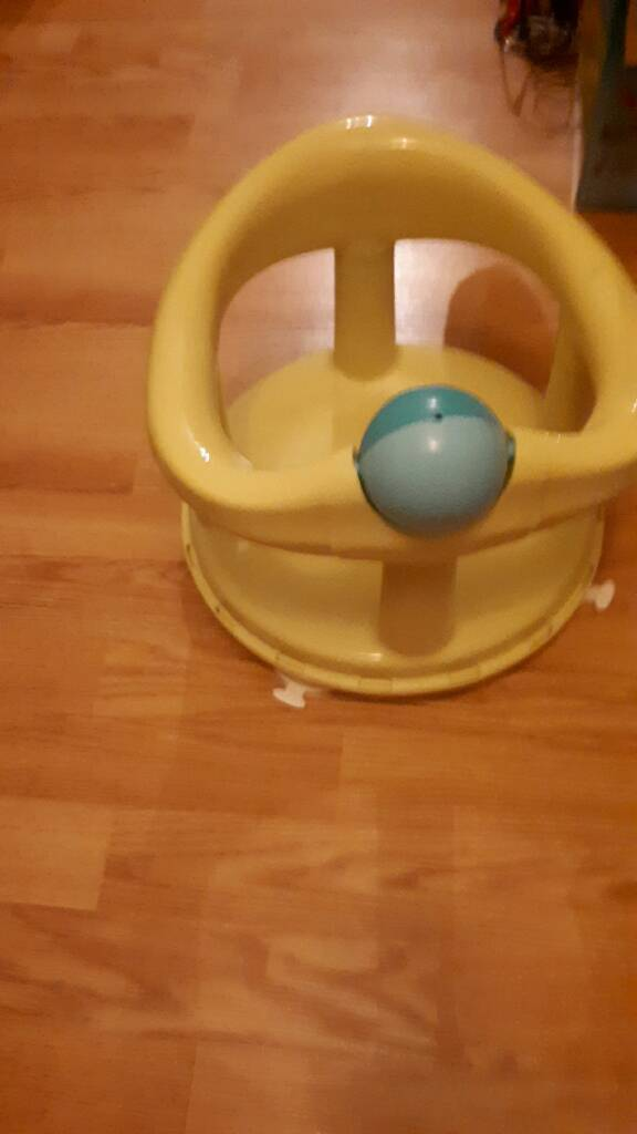 Baby bath seat, lime green | in Croydon, London | Gumtree