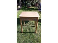 1950's-60's vintage restored childs school desk
