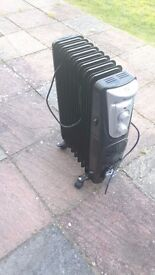 (reserved, awaiting collection) Electric heater black