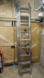 Hailo Combination 9 Rung Extension Ladder