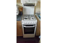high level grill gas cooker 2 months old with latest safty fittings