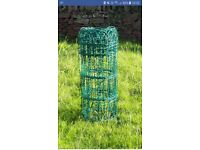 Green Arch PVC fence