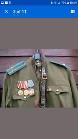 Ww2 type Russian soviet army uniform