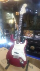 Fender USA Highway one Stratocaster inc case 2009 with Seymour Duncan Hotrails pickup