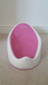 Angelcare soft touch bath support in pink