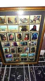 Star Wars Framed limited edition card set