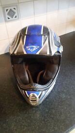 M.Robert motorcross helmet size s