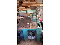 DeWalt Industrial Radial Arm Saw, single phase 240v