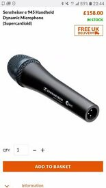 Seinheiser super cartoid microphone like new