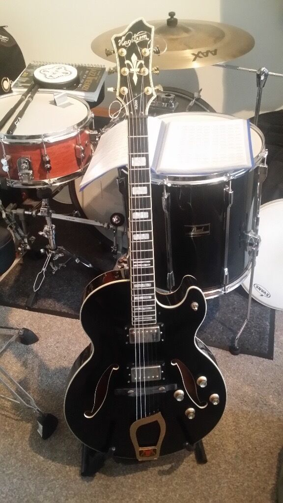 Hagstrom HJ500 Electric (semi acoustic) Guitar for Sale