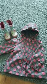 girl set 9-12month (80cm) shoes size5 jacket reserved baby 80cm 9-12month shoes size 5