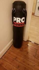 Pro power punch bag