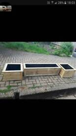 Decking planters made to order