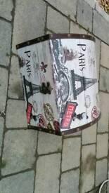 Paris themed chest