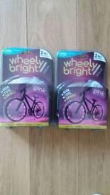 Wheel bright bike lights