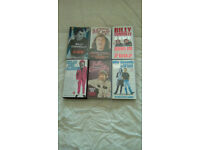 BILLY CONNOLLY-6 X VHS VIDEO'S-EX