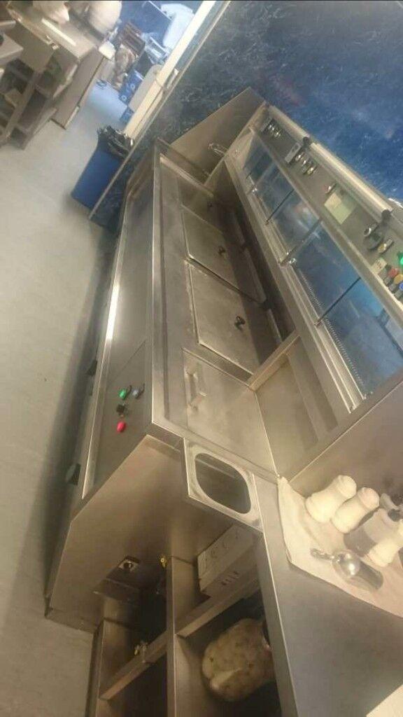 3 pan Frying range