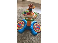 Sit to stand dancing tower baby toy