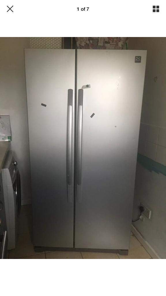 Daewoo DRS30SMI American Style Fridge Freezer - Silver Side By Side