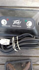 Peavey Bandit Amplifier Footswitches