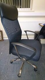 Office Chair. Excellent condition. Cost £100 new.