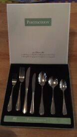 44 piece portmeirion cutlury set