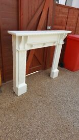 Beautiful Solid pine fire surround in excellent condition
